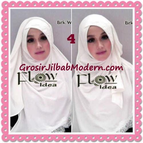Jilbab Instant Syria Renda Silang Trendy Annisa by Flow Idea No 4 Broken White