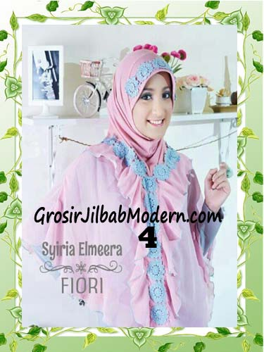 Jilbab Jumbo Modern Modis Elmeera Original By Fiori Design No 4 Dusty Pink