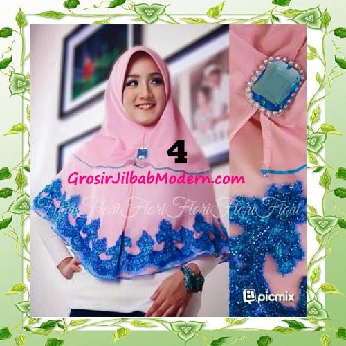 Jilbab Syria Pet Faresha Original by Fiori Design No 4