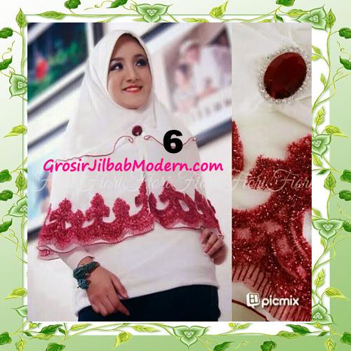Jilbab Syria Pet Faresha Original by Fiori Design No 6