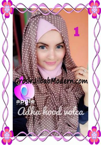 Jilbab Instant Modis Adha Hoodie Volca by Apple Hijab Brand No 1