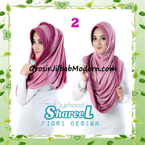 Jilbab Instant Simple Modis Syria Hoodie Shareel by Fiori Design No 2