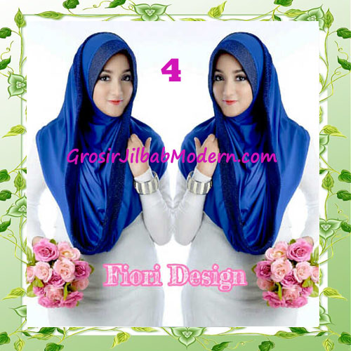 Jilbab Instant Simple Modis Syria Hoodie Shareel by Fiori Design No 4