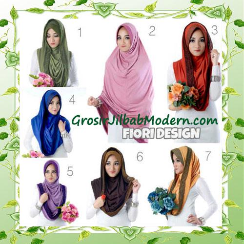 Jilbab Instant Simple Modis Syria Hoodie  Shareel by Fiori Design Series