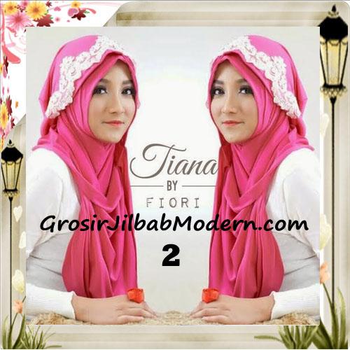Jilbab Instant Unik Tiana Original by Fiori Design No 2 Fanta