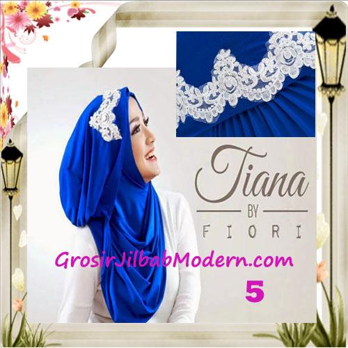 Jilbab Instant Unik Tiana Original by Fiori Design No 5 Elblue