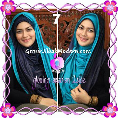 Jilbab Modern Instant Glowing Arabian 2 Side Hoodie by Apple Hijab Brand NO 7