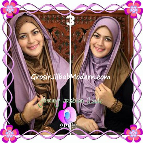 Jilbab Modern Instant Glowing Arabian 2 Side Hoodie by Apple Hijab Brand No 3