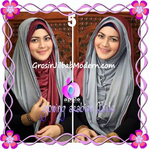 Jilbab Modern Instant Glowing Arabian 2 Side Hoodie by Apple Hijab Brand No 5
