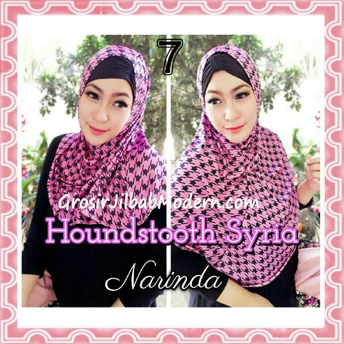 Jilbab Syria Instan 4 Gaya Terbaru Houndstooth By Narinda No 7