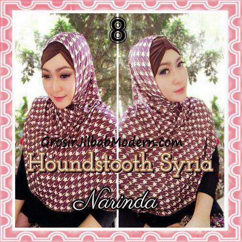 Jilbab Syria Instan 4 Gaya Terbaru Houndstooth By Narinda No 8