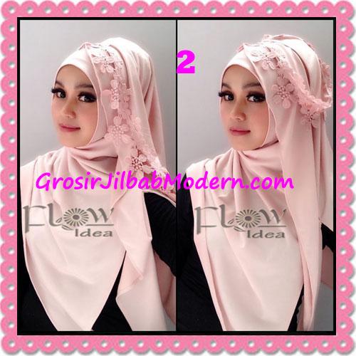 Jilbab Syria Instant Modern Safiya By Flow Idea No 2 Baby Pink
