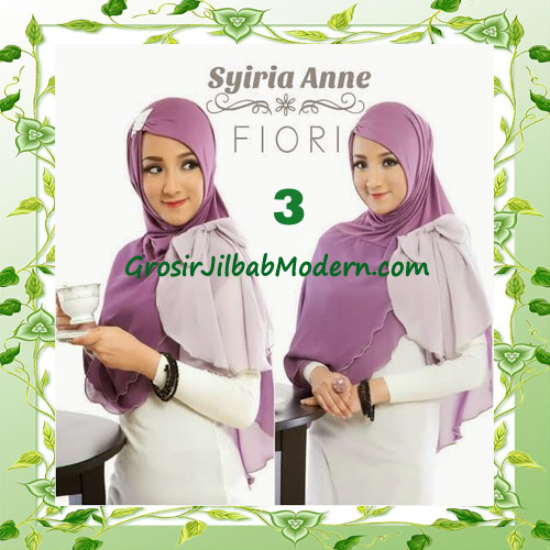 Jilbab Syria Modis Anne by Fiori Design No 3