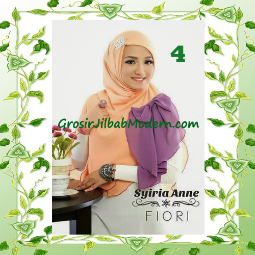 Jilbab Syria Modis Anne by Fiori Design No 4