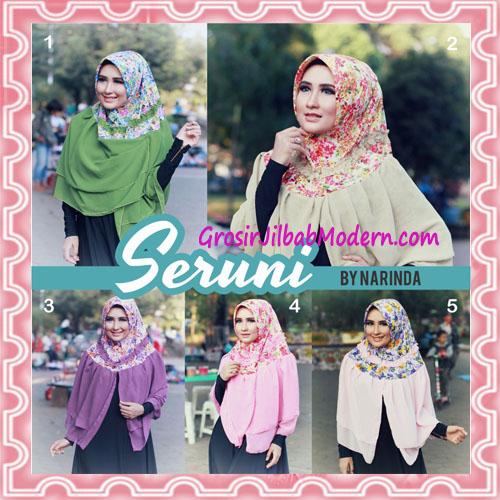 Jilbab Syria Pet Seruni Syar'i Cantik by Narinda Series