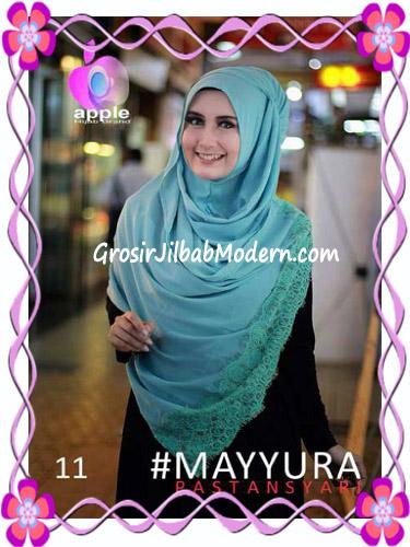 Pashmina Instan Modern Stylish Mayyura By Apple Hijab Brand No 11 Babe Tosca