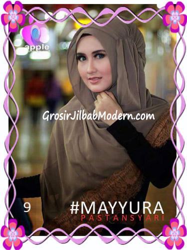 Pashmina Instan Modern Stylish Mayyura By Apple Hijab Brand No 9 Milo