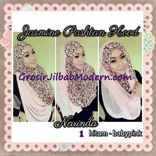 Jilbab Instant Jasmine Pashtan Hoodie Terbaru by Narinda Hijab No 1