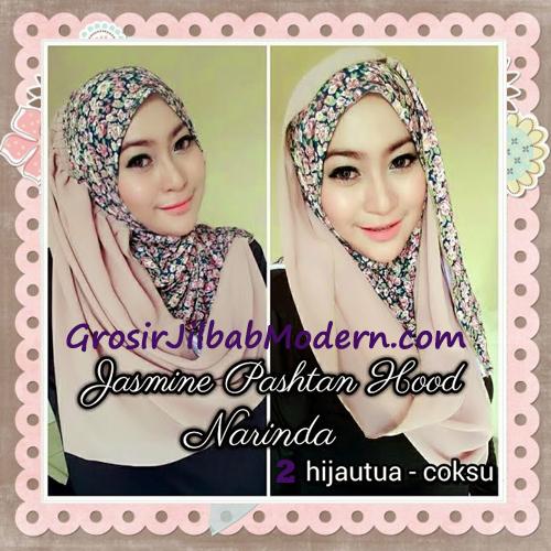 Jilbab Instant Jasmine Pashtan Hoodie Terbaru by Narinda Hijab No 2