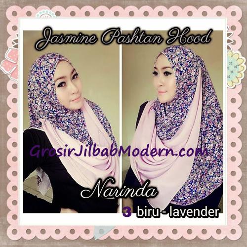Jilbab Instant Jasmine Pashtan Hoodie Terbaru by Narinda Hijab No 3