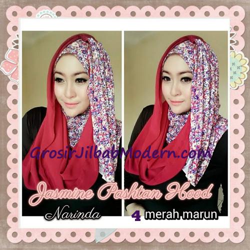 Jilbab Instant Jasmine Pashtan Hoodie Terbaru by Narinda Hijab No 4