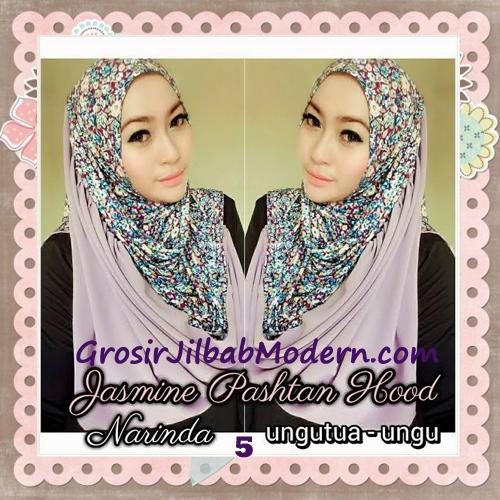 Jilbab Instant Jasmine Pashtan Hoodie Terbaru by Narinda Hijab No 5