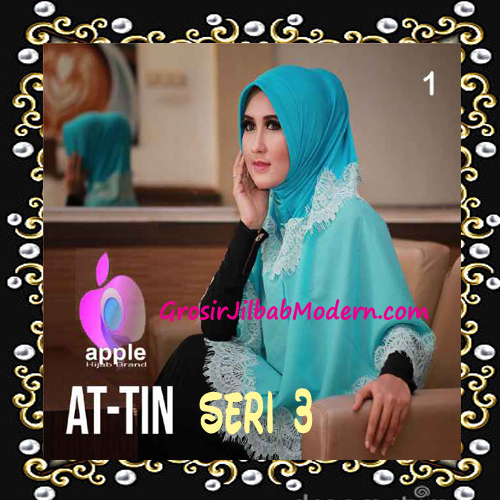 Jilbab Syar'i Exclusive  At Tin  Seri 3 by Apple Hijab Brand No 1