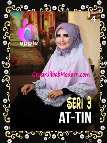 Jilbab Syar'i Exclusive  At Tin  Seri 3 by Apple Hijab Brand No 4