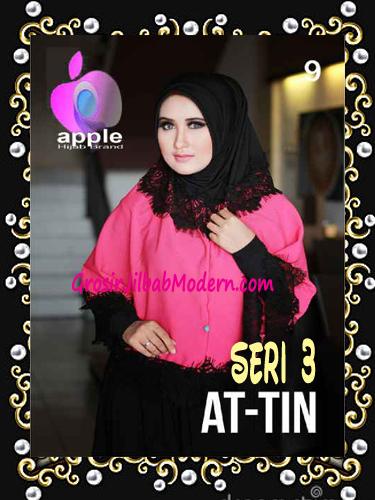 Jilbab Syar'i Exclusive  At Tin  Seri 3 by Apple Hijab Brand No 9