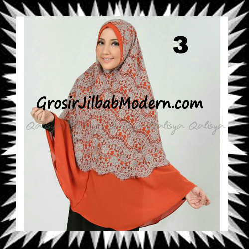 Khimar Exclusive Syar'i Damia Seri 2 Original by Qalisya No 3