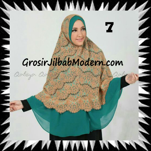Khimar Exclusive Syar'i Damia Seri 2 Original by Qalisya No 7