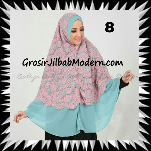 Khimar Exclusive Syar'i Damia Seri 2 Original by Qalisya No 8