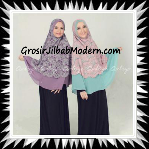 Khimar Exclusive Syar'i Damia Seri 2 Original by Qalisya