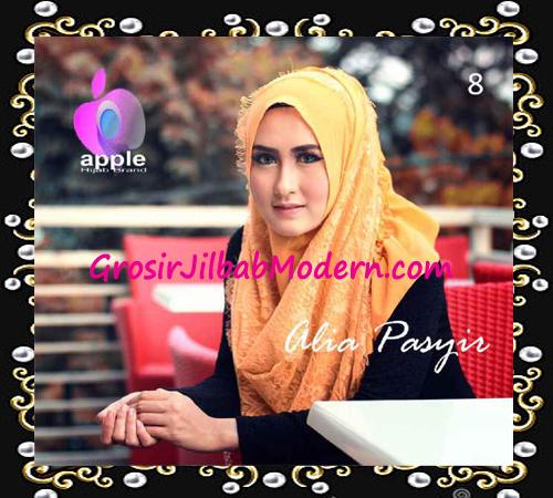 Pashmina Instan Exclusive Terbaru Alia Pasyir By Apple Hijab Brand No 8 Gold