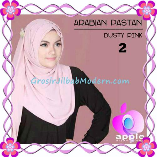 Jilbab Instant Modern Arabian Pastan Original by Apple Hijab Brand No 2 Dusty Pink