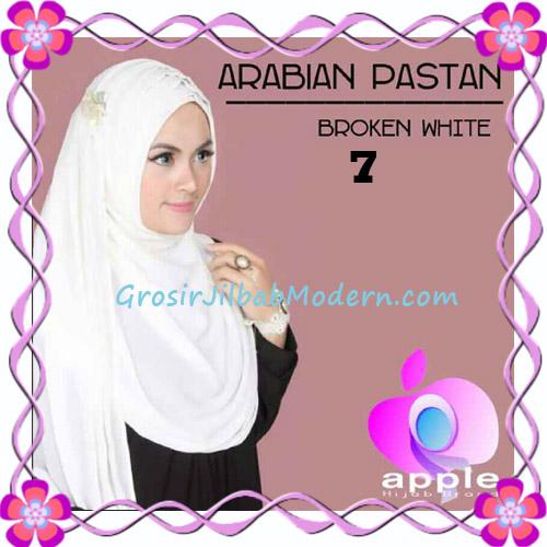 Jilbab Instant Modern Arabian Pastan Original by Apple Hijab Brand No 7 Broken White
