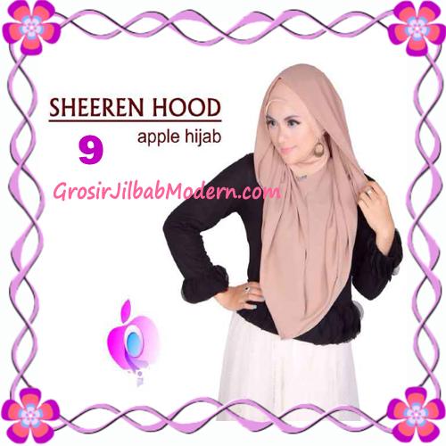 Jilbab Instant Modis Sheeren Hoodie Original by Apple Hijab Brand No 9 Milo