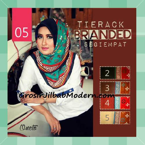 Jilbab Segi Empat Tierack Branded Seri 5