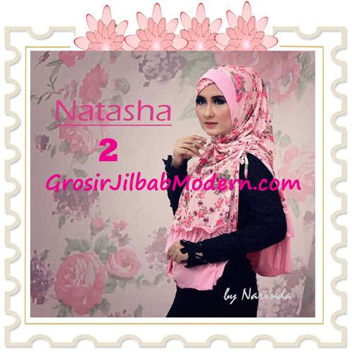 Jilbab Syar'i Natasha Pet Silang  Original by Narinda No 2 Pink Peach