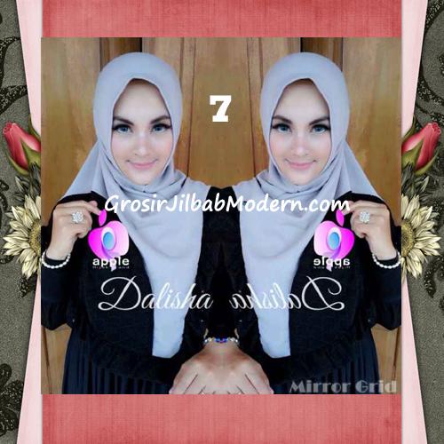 Jilbab Syria Cantik Dalisha by Apple Hijab Brand No 7 Abu