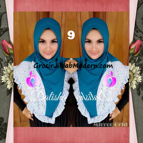 Jilbab Syria Cantik Dalisha by Apple Hijab Brand No 9 Tosca
