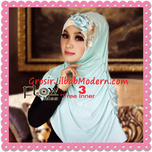 Jilbab Syria Modis Queenova Cantik Original by Flow Idea No 3 Tosca
