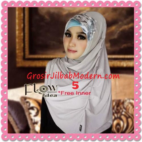 Jilbab Syria Modis Queenova Cantik Original by Flow Idea No 5 Abu