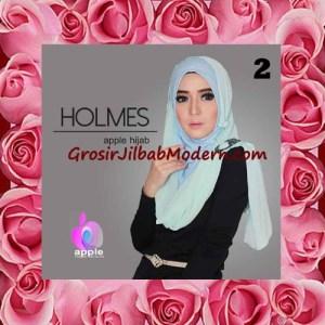 Jilbab Syria Pashmina Instant Modis Terbaru Holmes by Apple Hijab Brand No 2 Soft Mint