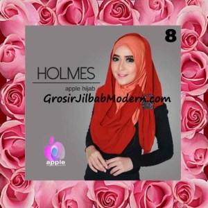Jilbab Syria Pashmina Instant Modis Terbaru Holmes by Apple Hijab Brand No 8 Taracota