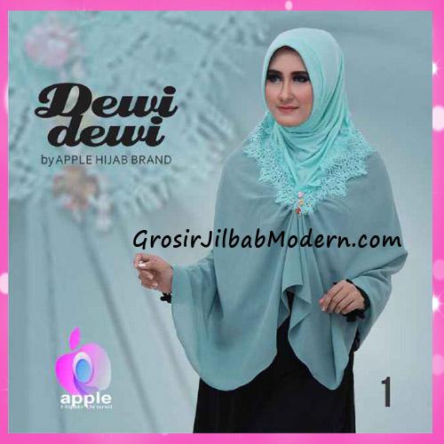 Jilbab Syria Syar'i Dewi Dewi Trendy Original by Apple Hijab Brand No 1