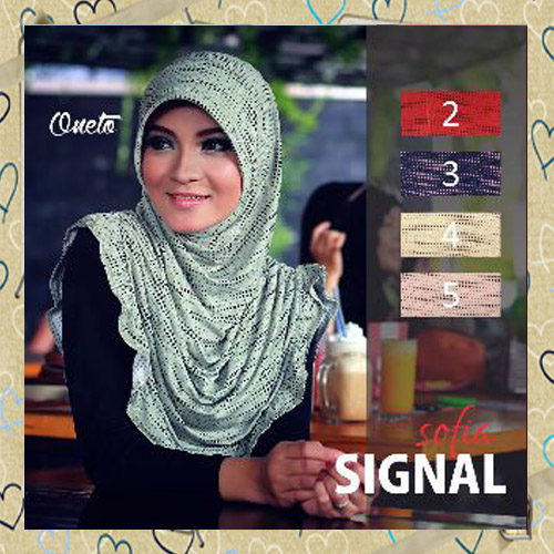 Jilbab Harian Modis Sofia Signal