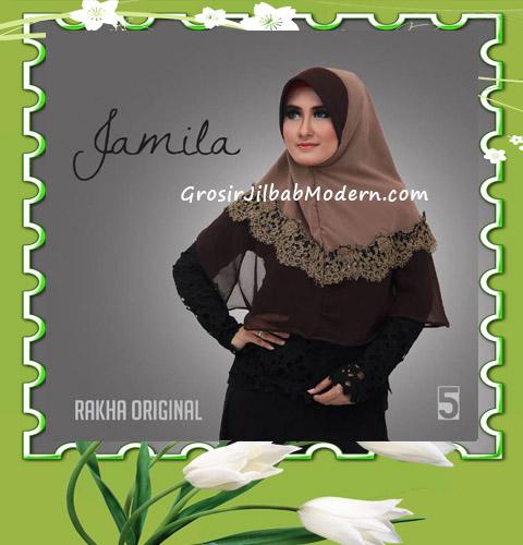 Jilbab Instan Terbaru Bergo Pet Jamila by Rakha No 5