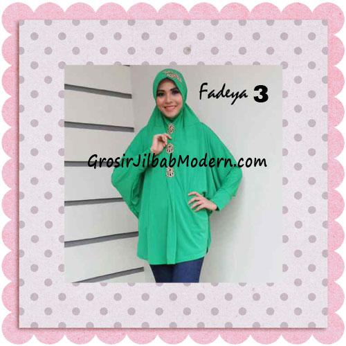 Jilbab Instant Lengan Bergo Inindia Simple Original Fadeya Brand No 3 Dusty Green
