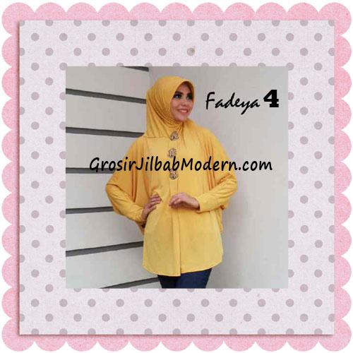 Jilbab Instant Lengan Bergo Inindia Simple Original Fadeya Brand No 4 Yello